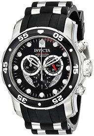 インビクタ Invicta インヴィクタ 男性用 腕時計 メンズ ウォッチ プロダイバーコレクション Pro Diver Collection クロノグラフ ブラック 6977 送料無料 【並行輸入品】