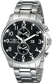 インビクタ Invicta インヴィクタ 男性用 腕時計 メンズ ウォッチ ブラック 0379 送料無料 【並行輸入品】