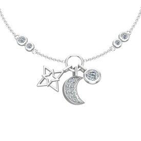 【PASITHEA Star & Moon ブレスレット】レディース ブレスレット シルバー925 ブランド レデイースジュエリ アクセサリー アンクレット ジュエリー バースデー 誕生日 記念 ラッピング