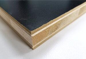 カラー棚板黒色(ランバーコア)