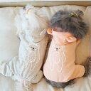 【秋冬新作】なめらかな裏地のパジャマ部屋着向けパーカーつなぎ★可愛いクマさんスタイル♪オレンジグレーライトオレ…