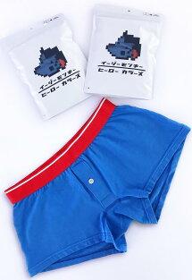 ヒーローカラーズイージーモンキーオリジナルニットトランクス日本製MadeinJAPANコットンストレッチポップカラーメンズ男性下着メンズ下着パンツ