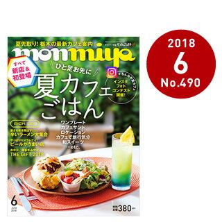 栃木県のタウン情報誌 monmiya(もんみや)2018年6月号「ひと足お先に 夏カフェごはん」