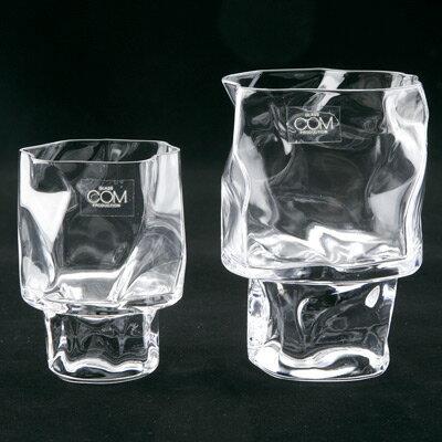 【ラッピング無料】【楽ギフ_包装】Crumple クランプルWine Glass ワイングラスクリアー Sサイズ