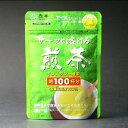 インスタント緑茶 サーッと溶ける煎茶 60g袋入り [約100杯分。お湯でも水でもサーッとすぐ溶けます]水出しでもどうぞ