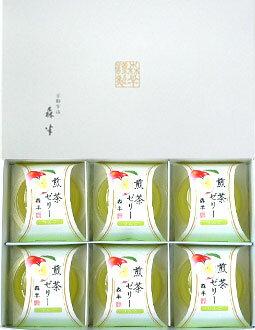 煎茶ゼリーリンゴ6個入りセット