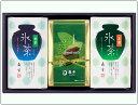 氷茶・宇治抹茶カステラ詰合せ SN-1 [冷水で抽出する水出しの冷茶と、極上手作りの抹茶カステラです。(水出し緑茶)]お中元にも