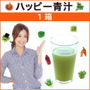 東原亜希のハッピー青汁1箱 HAPPY AOJIRU2.5g×40包入