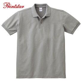 ポロシャツ 半袖 無地 T/C ポロシャツ ポケット無 Printstar プリントスター 24色 JS JM JL SS S M L LL 3L 4L 5L