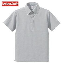 ポロシャツ 半そで レディース メンズ 半袖 ボタンダウンポロシャツ XS S M L XL XXL XXXL XXXXLサイズ 15色