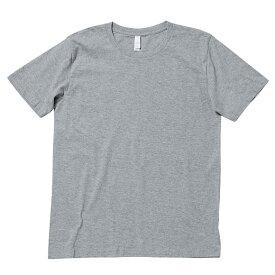 【送料無料】Tシャツ キッズ Tシャツ 無地 Tシャツ 半袖 ユーロTシャツ XS S M L XL 5.3oz ホワイト ブラック ネイビー グレー レッド