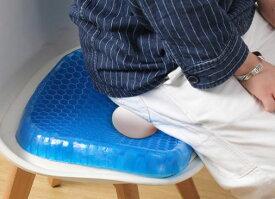 卵が割れないジェルクッション 姿勢改善 長時間座っても疲れない ゲルクッション 疲れない クッション 座布団 椅子 座席 痛くない 仕事用 シンプル