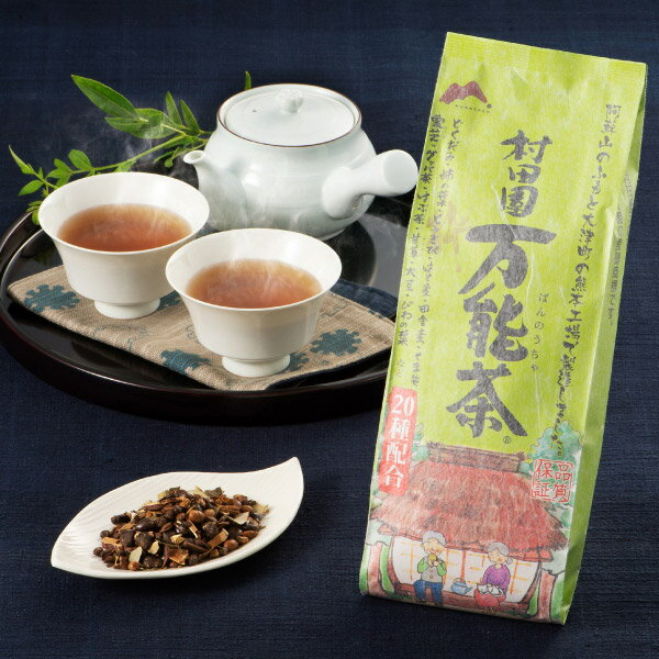 【送料無料】 定期購入:3ヶ月毎コース 村田園 万能茶(粋)400g×3個セット 5.4%off!健康茶 送料無料 健康茶 万能茶 健康茶 健康茶