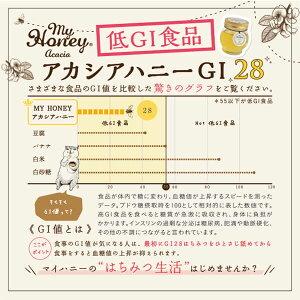 【MYHONEY公式】【GI28&MGO30+】マヌカブレンド200g&アカシアハニー200gセット【母の日ギフト】