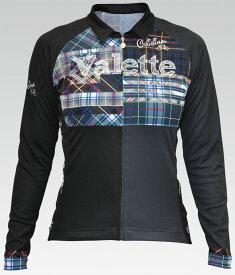 【VALETTE/バレット】ALBA(アルバ)長袖ジャージ【サイクルジャージ/サイクルウェア/自転車/レプリカ/サイクル/ロードバイク/ウェア/ユニフォーム/ランニングウェア/フィットネスウェア】