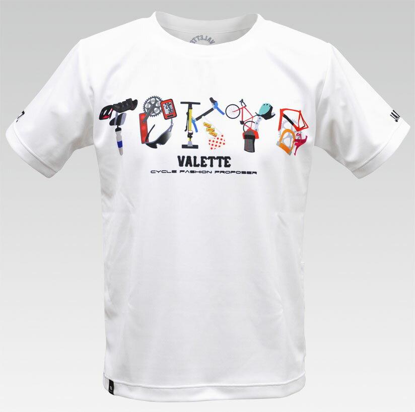 【VALETTE/バレット】TOKYO(トーキョー) ポケT【サイクルジャージ/サイクルウェア/自転車/Tシャツ/レプリカ/サイクル/ロードバイク/ウェア/ユニフォーム/ランニングウェア/フィットネスウェア/フットサルウェア/ゴルフウェア】