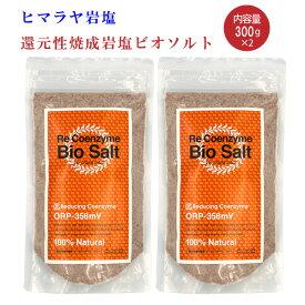 【4/9 16時〜5/10 12時迄 期間限定ポイント5倍】【送料無料】2個セット/リ・コエンザイム ビオソルト300g Re Coenzyme bio salt※沖縄を除く