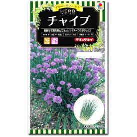 ハーブ 種子 チャイブ 1ml ( chives エゾネギ ) 【ラッキーシール対応】