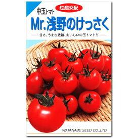 中玉トマト 種子 Mr.浅野のけっさく 100粒 とまと 【ラッキーシール対応】
