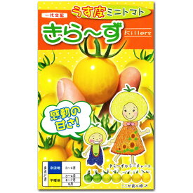 ミニトマト 種子 きら〜ず 20粒 とまと キラーズ 【ラッキーシール対応】