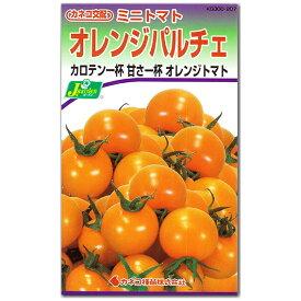 ミニトマト 種子 オレンジパルチェ 19粒 とまと 【ラッキーシール対応】