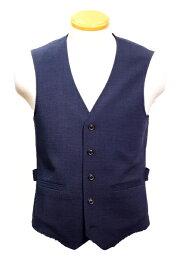 ティージャケット トネッロ /t-jacket tonello /ジレ/ウールストレッチ/ネイビー