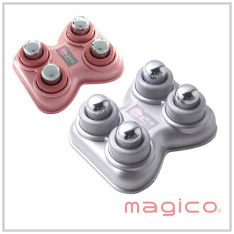 Magico Fast Healing Instrument (4 ball type)  [recovery from illness device, massage device, key point push, pot push devote themselves to only four pitches of co-recovery from illness devices type seriously are stiffness, stiff shoulder, stiff ]