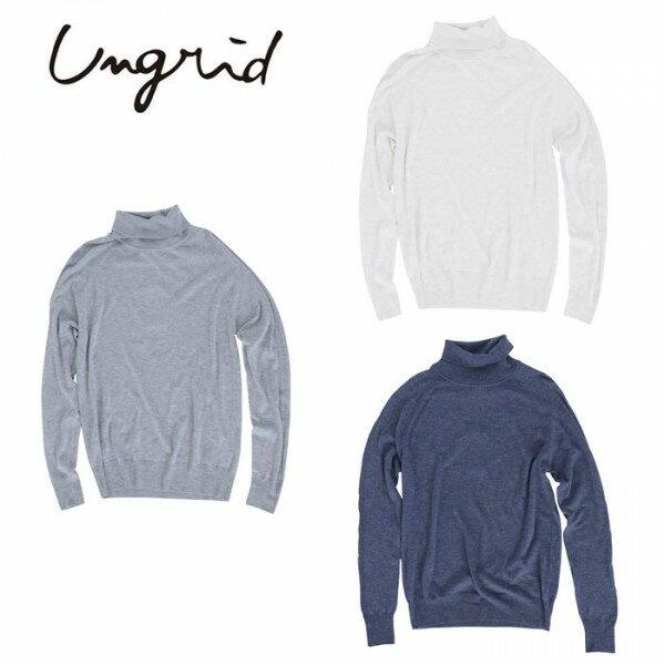 Ungrid(アングリッド)5,990⇒4,792(20%OFF)ベーシックタートルニット(111610520901)タートルニット ベーシック レディース カジュアル