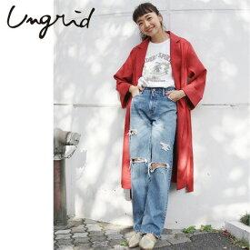Ungrid(アングリッド)カラーミドル丈コート(111810005301)コート レディース カジュアル 送料無料 代引手数料無料