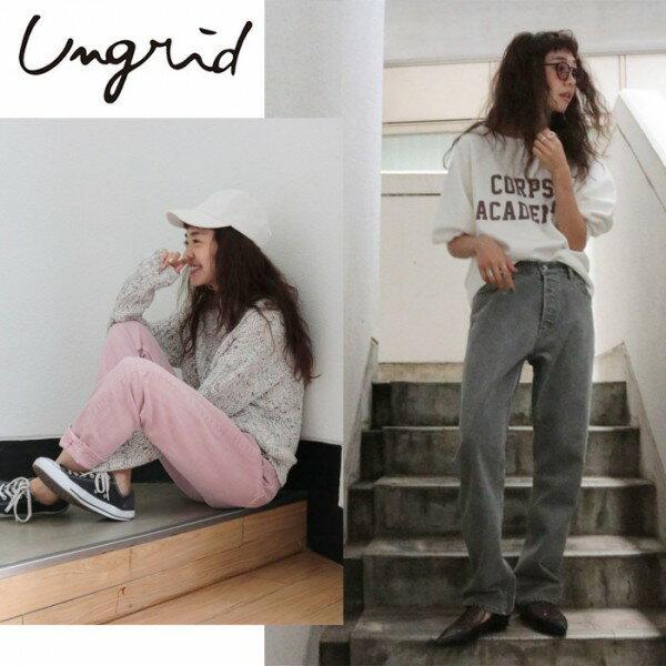 Ungrid(アングリッド)カラーボーイズデニム(111812421701)2018Spring新作 パンツ レディース カジュアル 送料無料 代引手数料無料