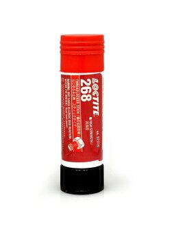 "Loctite 268 ""high strength"" screw loosening materials [stick], [go]"