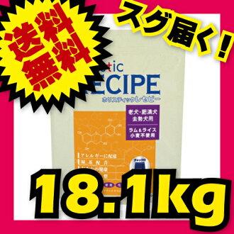 整體卷軸羔羊 & 水稻高級 (老、 肥胖狗和狗的中性) 18.1 公斤飼養員包整體配方。
