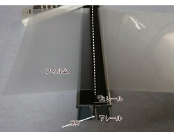 ガラスフィルム施工ツールフィルムカッターFC900カット幅最大920mmカッター付き全長950mm・全幅40mm・全高32mm重量=約850g