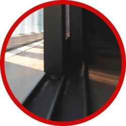 ポリカ中空ボード簡易内窓イージーウインドウEW-LLサイズ(W1830mm×H1300mm以内)ご指定サイズオーダー製作激化する極寒・酷暑に気密性が高く開閉便利な内窓で快適ライフ、網入りガラスにも適