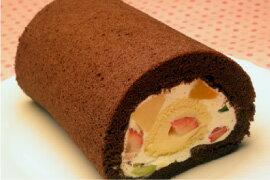 フルーツロールケーキ (18cm) あす楽 誕生日ケーキ バースデーケーキ 送料別 冷蔵配送のみ