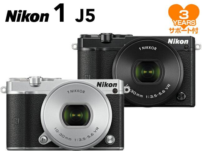 ニコン Nikon 1 J5 標準パワーズームレンズキット