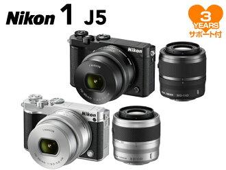 Nikon 1 J5 double zoom lens Kit