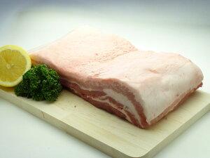 国産豚バラ ブロック(1kg)