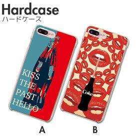 iPhoneXR ケース iPhoneXS/X XSMAX iPhone 8 8Plus 7 7Plus SE Xperia Huawei galaxy ハード スマホケース シンプル メンズ コーラ coke lip 唇 ドリンク レトロ ポップ かっこいい