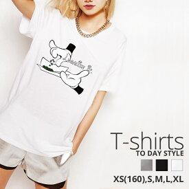Tシャツ レディース メンズ Uネック クルーネック 丸首 綿 半袖 カットソー マリファナ ガンジャ weed ハンド ロゴ 大人かわいい かっこいい ペア カップル おそろ リンクコーデ