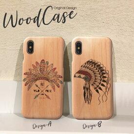 iPhoneX iPhone8 Plus iPhone7 Plus SE iPhone6s Plus xperiaZ5 木製 ケース スマホケース wood case おしゃれ ウッドケース インディアン ネイティブアメリカン フェザー native ethnic 天然木だから1点1点違う、あなただけのウッドケース