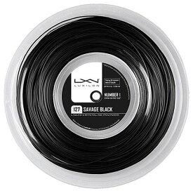 【SALE】ルキシロン ガット サベージ ブラック 1.27mm(200mロールガット)(WRZ902100)