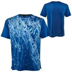 【SALE】アスレチックDNA ジュニア(ボーイズ) テニス ウェア スプリング メッシュ マッチ クルーシャツ Lava