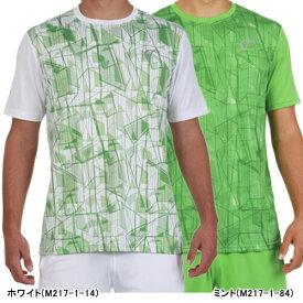 【SALE】アスレチックDNA メンズ テニス ウェア サマー マッチ クルー シャツ Highrise