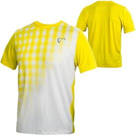 【SALE】アスレチックDNA メンズ テニス ウェア メッシュ York クルー Racket