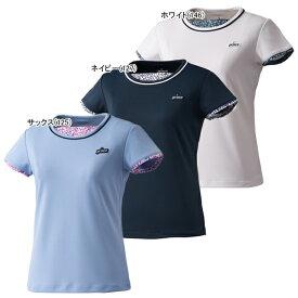 【SALE】プリンス ジュニア ガールズ テニスウェア ゲームシャツ (WJ110G)
