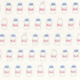 1m単位切り売り インテリア プリント MILK ミルク