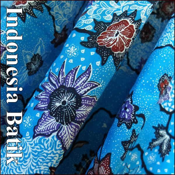 バティック−062 インドネシアのろうけつ染めアジアン雑貨 布 さらさ 更紗 タペストリー マルチクロス