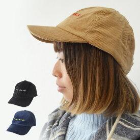 キャップ 帽子 ブランド メンズ レディース sense of grace グレースハット 秋 冬 コーデュロイ ALIGHT BB CAP 男女兼用 運動会 行楽 キャンプ 釣り アウトドア カジュアル シンプル メンズ帽子 サイ調整可