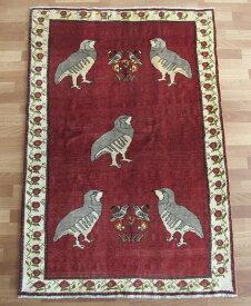 ギャッベ ギャベ/カシュガイ、絨毯のような細かな織 179×121cm
